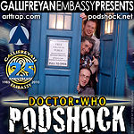 Doctor Who: Podshock Cover Art Style D25
